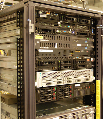 MyGamerCard Rack Servers