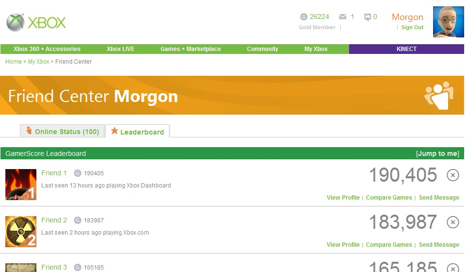 XCFL Screenshot